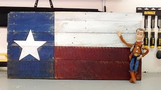 Just another quick video of a Texas flag build