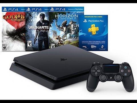 КУПИЛ Playstation 4 slim КОМПЛЕКТ ВСЕГО ЗА 17999 Распаковка + horizon,god of war 3,uncharted 4