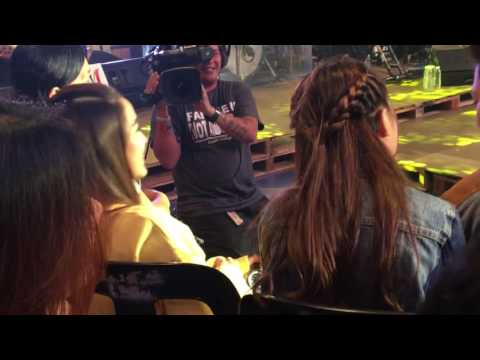 AndRen: Darren Espanto dances with Andrea Brillantes at One Music Darren
