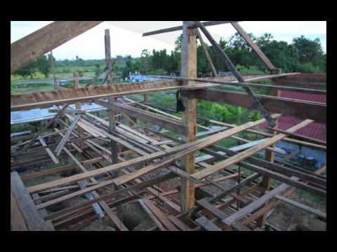 บ้านไม้ - ความกว้าหน้าในการสร้างบ้านหลานแตง.