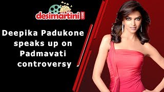 Deepika Padukone Talks About Padmavati #DesimartiniKaFever