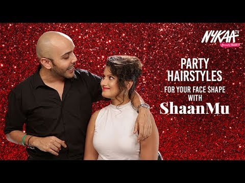 Party Hairstyles For Your Face Shape With ShaanMu | Makeup Expert