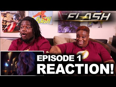 The Flash Season 4 Episode 1 : REACTION WITH MOM!!!