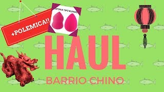 "Mini Haul del Barrio Chino + Polemica declaracion sobre ""silisponge vs beauty blender"""