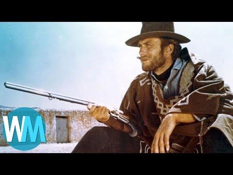 Top 10 Western Movie Heroes (видео)