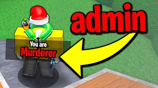 Admin commands in Murder Mystery 2 (Roblox)