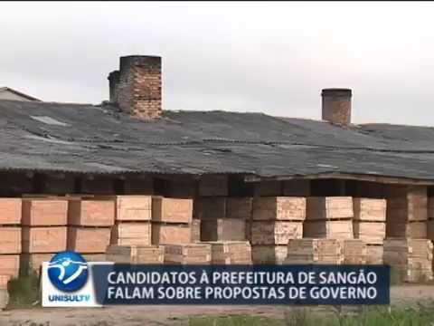 Eleições 2004: Sangão tem dois candidatos a prefeito do município