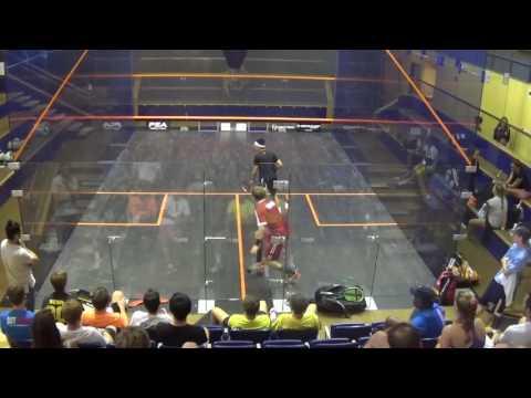 Sean Choi vs. Dylan Kachur UVA Gold Squash 2