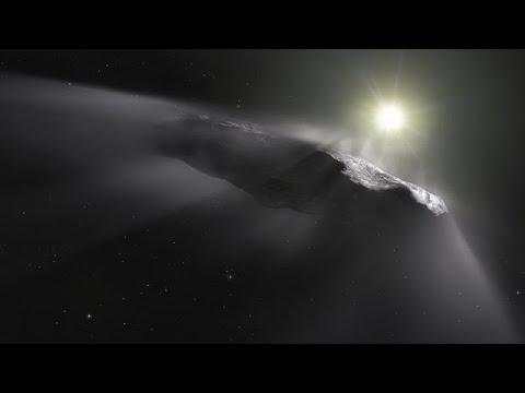 天外飛來一筆,星際旅客Oumuamua