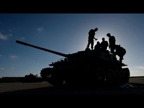 Libyen: Kampfjet der Haftar-Truppen offenbar über Tripo ...