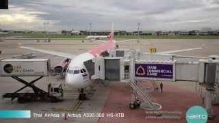 Video Thai AirAsia X from Bangkok to Seoul flight XJ700 with Business Class Service MP3, 3GP, MP4, WEBM, AVI, FLV Juni 2018