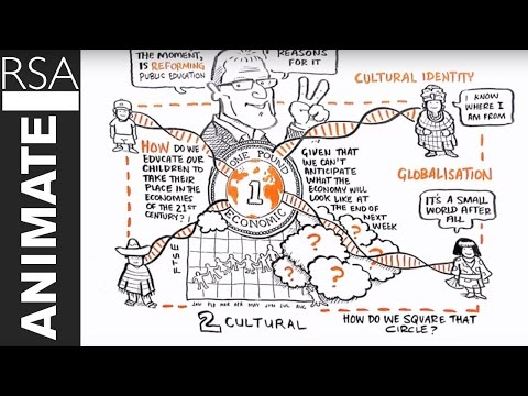 educational - This RSA Animate was adapted from a talk given at the RSA by Sir Ken Robinson, world-renowned education and creativity expert and recipient of the RSA's Benj...