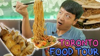 Video Chinese RAMEN Noodles & Pork Buns: Toronto Chinese Food Tour MP3, 3GP, MP4, WEBM, AVI, FLV November 2017