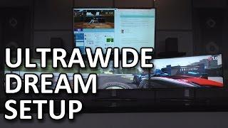 Ultrawide Dream Setup & New LG Monitors! - CES 2016