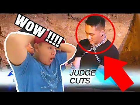 Demian Aditya: Escape Artist Attempts Deadly Performance - America's Got Talent 2017 (видео)