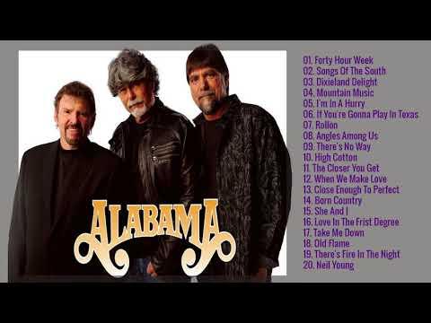 Best Songs Of Alabama   Alabama Greatest Hits Playlist