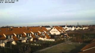 2015-12-27 - Weather Time Lapse Brylantowa, Wroclaw