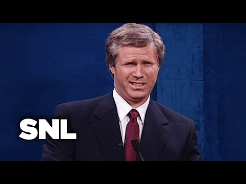 First Presidential Debate: Al Gore and George W. Bush  - SNL