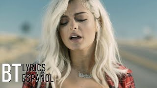 Bebe Rexha - Meant to Be (ft. Florida Georgia Line) (Lyrics + Español) Video Official