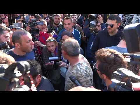 Նիկոլ Փաշնյանը վեադարձավ Բաղրամյան պողոտա - DomaVideo.Ru