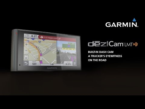 VIDEO: Garmin dezlCam: Your Trucking Navigator with Built-in Dash Cam