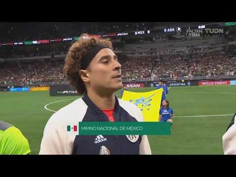 Argentina 4 vs México 0 Amistoso 2019.