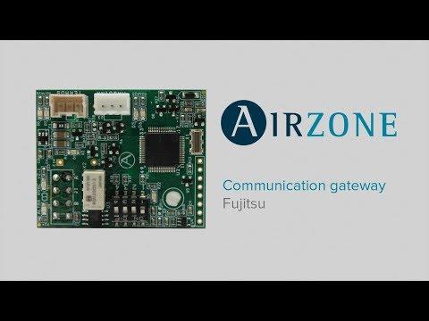 How to install the Fujitsu communication gateway