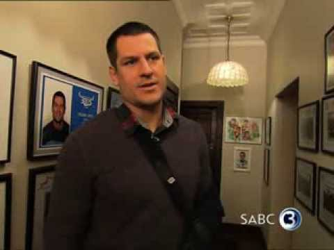 Top Billing visits Pierre Spies' guesthouse