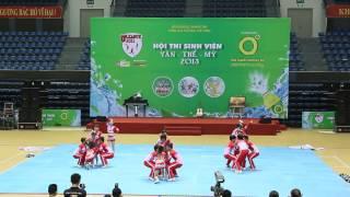 Cheerleading ĐH Kiến Trúc Đà Nẵng - 17/11/2013