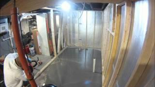 Basement Floor Leveling