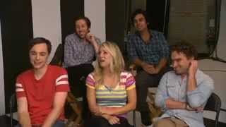 The Big Bang Theory cast answered some tweets (Entertainment Weekly Special)