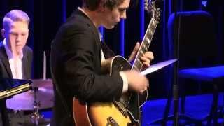Gijs Idema Trio - finale Prinses Christina Jazz Concours 2014