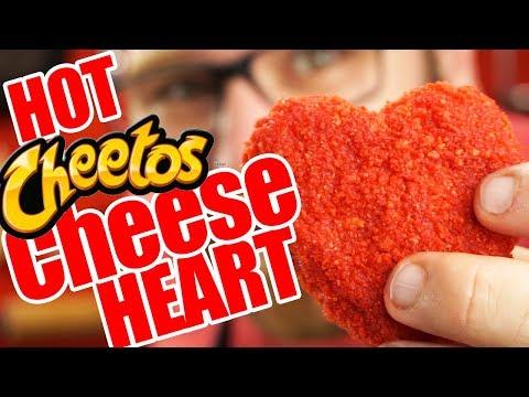 Flamin Hot Cheetos Cheese Sticks - HEART SHAPED!