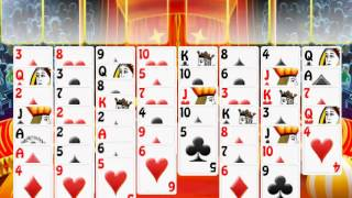 Circus Show Freecell Solitaire YouTube video