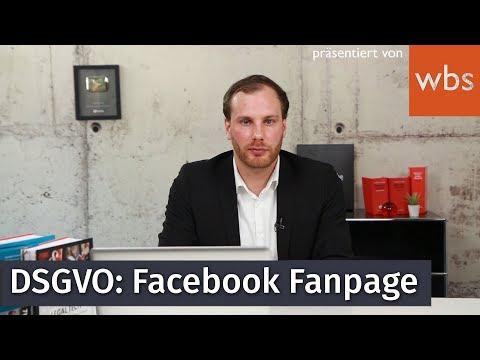 DSGVO: Worauf muss ich bei meiner Facebook Fanpage achten?