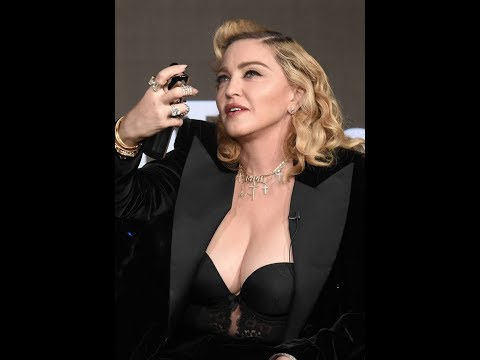 Battle of the boobs! Madonna and Kim Kardashian join forces for masterclass in sex appeal