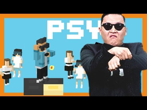 Brand New Psy Character - Crossy Road Psy Update & New Game Mode - Daddy Song Highscore