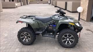 8. Arctic Cat 700 Turbo Diesel ATV walk around and start up