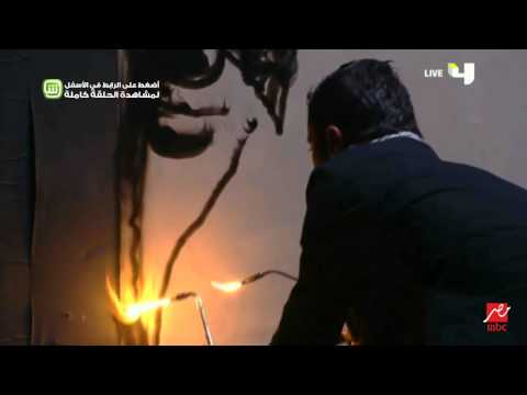 "محمد الديري يبهر حكام ""Arabs Got Talent"" برسم عرفات بالنار"