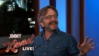 Jimmy Kimmel Didn't Make it into Marc Maron's Book