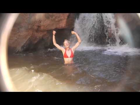 Waterfall Jumps in the Grand Canyon
