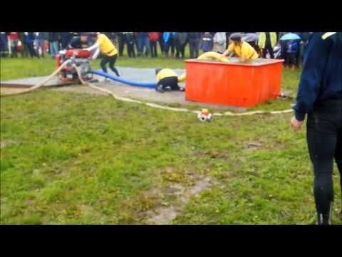 SDH Chýnov ženy - okrsková soutěž Dolní Hořice 11.5.2013 - 36,95s