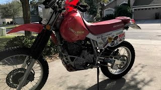 7. XR650L modifications walk around