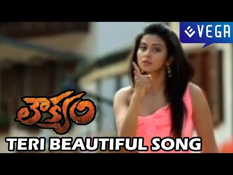 Loukyam Movie - Teri Beautiful Song - Gopichand, Rakul Preet Singh
