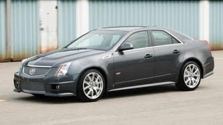2009 Cadillac CTS-V Automatic Tested - CAR And DRIVER