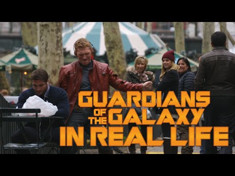 Guardians Of The Galaxy In Real Life