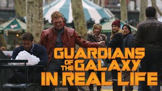 Guardians of the Galaxy...in New-York !