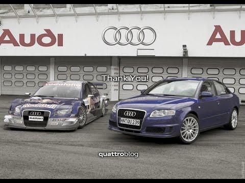 Thank You! Audi DTM Tribute (1990-2020) - QuattroBlog