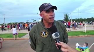 DETRAN promover simulação de resgate aéreo em parceria com o NOAConteúdo da SICTV, afiliada RecordTV em Rondônia.- Repórter: Sáimon Rio- Cinegrafsita: Adilson Santos (SICTV-RECORD)