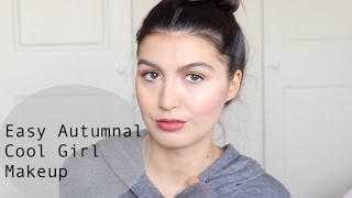 Easy Autumnal Cool Girl Makeup
